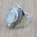 925 Sterling Silver New Fashion Rainbow Moonstone Ring Wr-5165