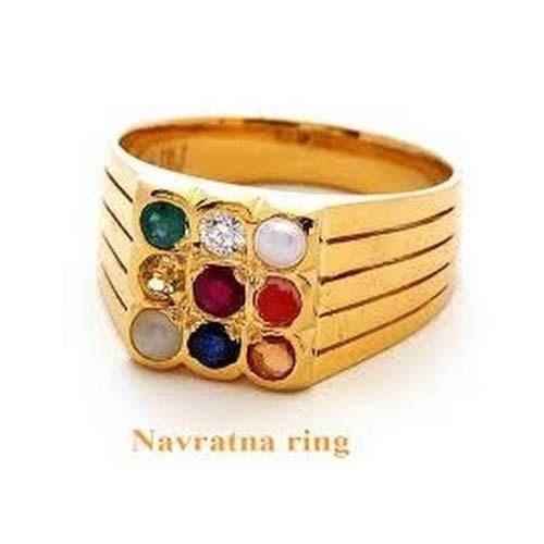 Navratna Ring 9 Gems at Rs 3100 piece