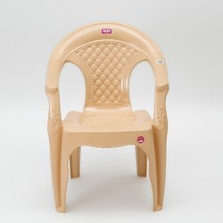2.1 Kg With Hand Rest (arms) Avon 7005 Beige Medium Back Plastic Chair