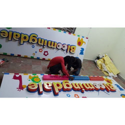 Acrylic Sign Board Installation Service