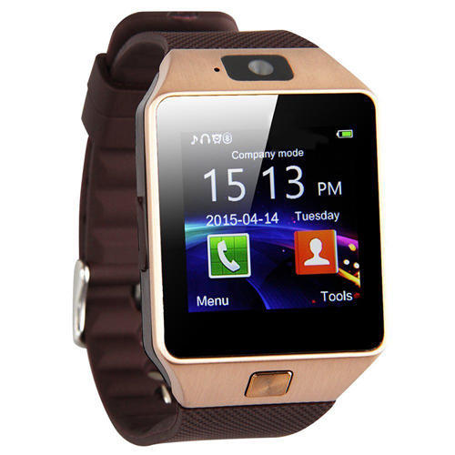 c54aea342e5 CROISSANT BLACK And SILVER 5 In 1 Smart Wrist Watch Mobile