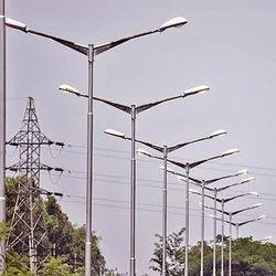 LED Street Light Erection Service