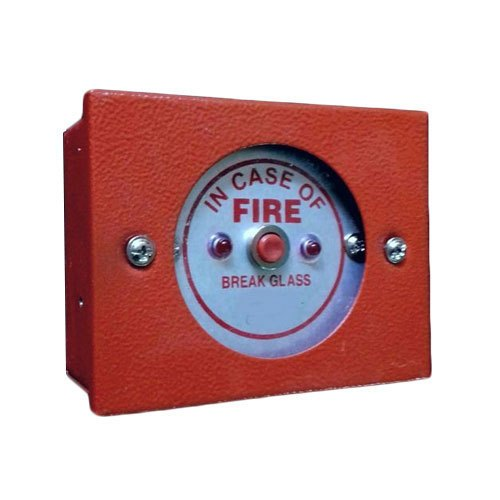 Fire Alarm Control Panel Red MCP Fire Alarm