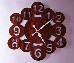 Wooden Wall Clock 1920