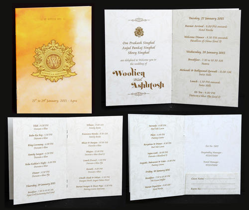 Itinerary Cards