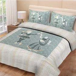 Jaipuri Print Double Bed Sheet