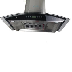 Grey Stainless Steel Supreme Crown Chimney, Warranty: Lifetime warranty, Suction Capacity(m3/hr): 1000