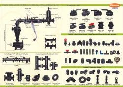 Water Medium Pressure Poonam Valves And Fittings, For Pipe Fitting, For Drip Irrigation Equipment