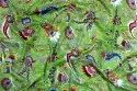Paisley Printed 100% Cotton Multi Color Fabric Jaipuri Printed Material for Dress