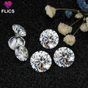 Full White Moissanite Diamond Stone