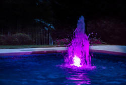 LED Bubbler Fountain