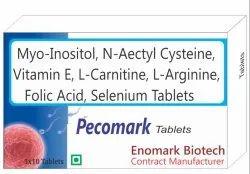 Myo-Inositol, N-Acetylcysteine, Vitamin E, L-Carnitine, L-Arginine, Folic Acid And Selenium