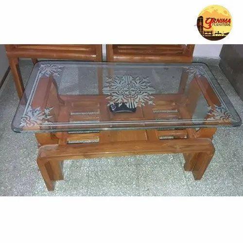 Designer Glass Center Table