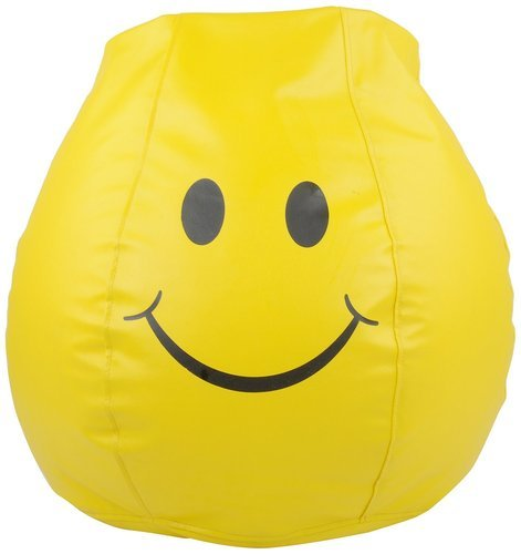 Surprising Boss Smiley Xxxl Bean Bag With Bean Filling Machost Co Dining Chair Design Ideas Machostcouk