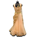 CROPTOP AND DRAP LEHENGA WITH HEAVY DUPATTA PARTY WEAR FESTIVE WEAR WEDDING WEAR