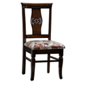 Modern Brown Wooden Chair, No Of Legs: 4 Legs, For Home