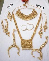 White Wedding Bridal Necklace Set