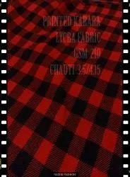 Polyester Printed Karara Fabric, GSM: 200-250