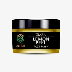Above 6 Years ZIARA LEMON PEEL FACE MASK, For Blackhead Removal, Packaging Size: 50g