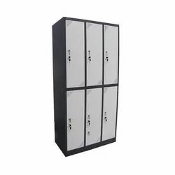 Mild steel Electrostatic Powder Coating Storage Locker, for Office, 6