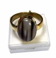 SSGJ Sulemani Hakik Ring Black Agate Ring Sulemani Akik Ring