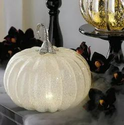 Glass Pumpkins, For Home, Size/Dimension: 10 Inch