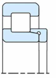 NBC NH Design Single Row Cylindrical Roller Bearing