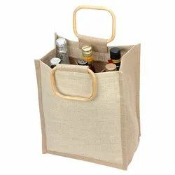 Plain Jute Wine Packing Bag