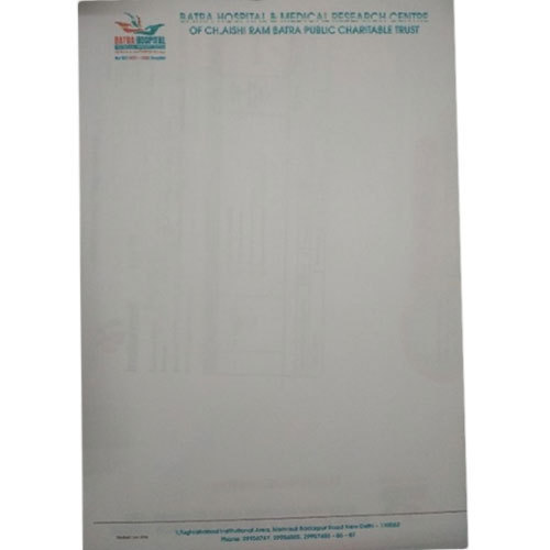 Corporate Letterhead At Rs  Piece  Letter Head  Id