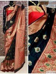 Banarasi Silk Vovan banarsi saree