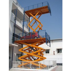 Multi Level Hydraulic Scissor Lift