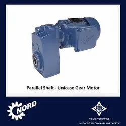 Parallel Shaft Gear Motors - Unicase
