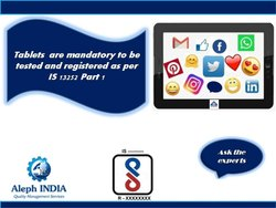 BIS Registration for Tablets