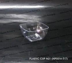 Mahalaxmi Transparent Mousse Cup