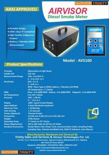 Smoke Meter Puc Machine Diesel Smoke Meter Manufacturer