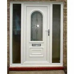 Designer UPVC White Doors