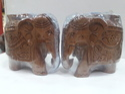 Kadam Wood Made Elephant Pair