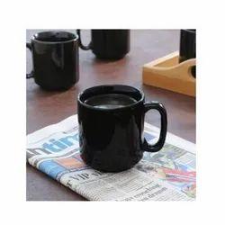 Cylindrical Ceramic Coffee Mug