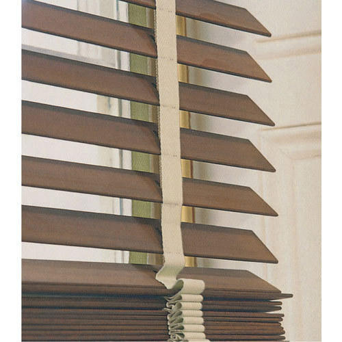 MAC Brown Horizontal Blinds