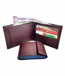 Woodlands PU Brown Wallets For Men