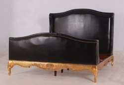 Leather Upholstered Bedroom Set