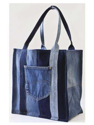 Twill Cotton Denim Vegitable Carry Bag