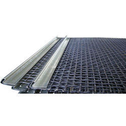 Crimped Spring Steel Wire Mesh for Industrial, 12mm-0.60mm