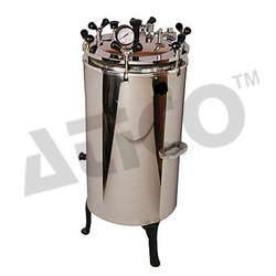 Vertical Autoclave Double Drum(S.S)