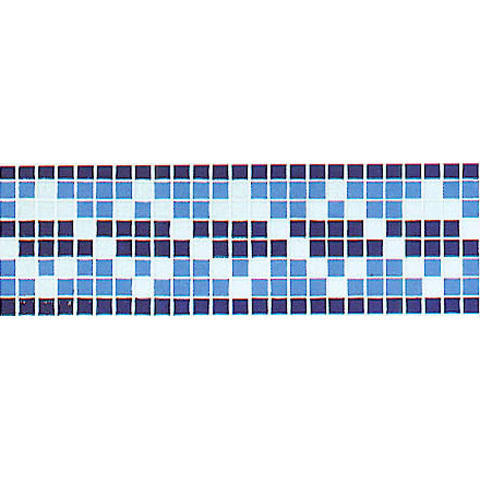 Glass Mosaic Border, Glass Mosaic Border - Pristine Mosaics