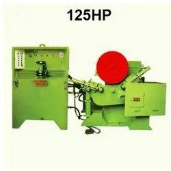 Three Phsae 125HP Mild Steel/Carbon Steel Ring Rolling Machine, Automation Grade: Semi-Automatic