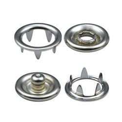 Ring And Cap Snap Button - (7.8mm)