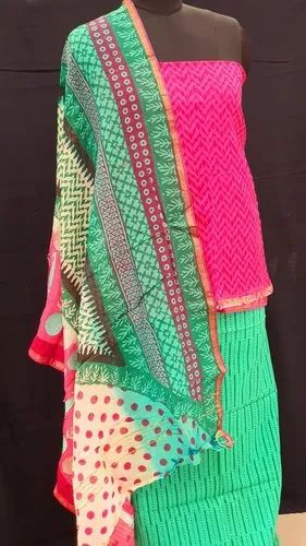 Jaipur Pure Cotton Handmade Suit