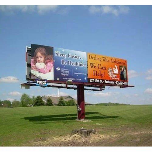 Outdoor Hoarding for Advertising