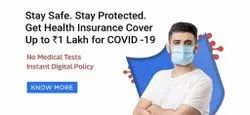 Unisex Online Covid Health Insurance Cheapest Rate, 1 Yr